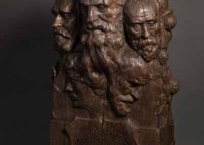 28- Bis Armand Bloch (1866-1932), Hommage aux mai݂tres Auguste Rodin, Pierre Puvis de Chavannes, Pierre-Auguste Renoir, Charles Garnier, Fe݁lix Bracquemond, bis