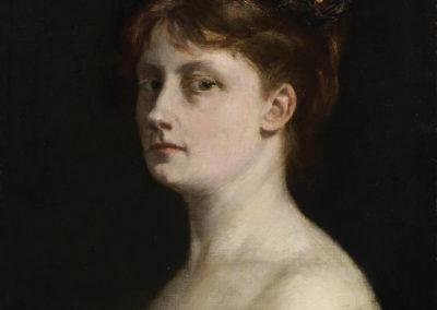 9- Autoportrait- Victorine-Meurent